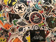 100 Skateboard Stickers star bomb Vinyl Laptop Luggage Decals Dope Sticker wars