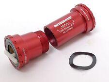 mr_ride Ceramic BB BB89 Frame adaptor Sram GXP MTB crank set Bottom Bracket Red