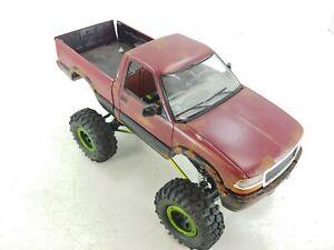 "Custom Build 1/10 4x4 RC Rock Crawler 8.5"" Wheelbase Brushed ARTR Small"