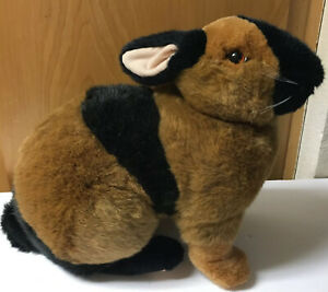 VINTAGE APPLAUSE Remarkable Rabbits Beethoven REALISTIC  BUNNY PLUSH EASTER EA