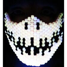 Glow in the Dark Skeleton Kandi Mask