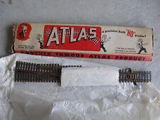 Vintage HO Scale Atlas Brass Turnout Track Section NIP 8RH