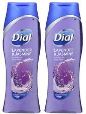 (2) Packs DIAL LAVENDER & JASMINE ALL DAY FRESHNESS BODY WASH 16 FL oz