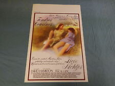 ORIGINAL MOVIE POSTER / AFFICHE - TENDRES COUSINES ( DAVID HAMILTON )