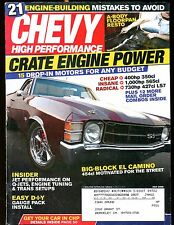 Chevy High Performance Magazine July 2008 Crate Engine EX w/ML 030117nonjhe