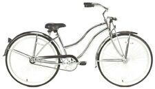 """Chrome Lady's 26"""" Beach Cruiser Bike 68 Spokes Springer Fork Coaster Brake!"""