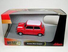 Austin Mini Cooper (rouge/blanc)