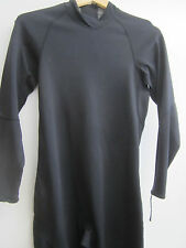 Scuba Dive Suit Undergarment, Full Suit, Black Size Medium Long