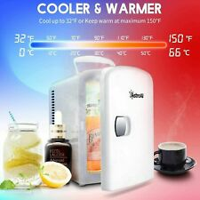AstroAi Mini Fridge Portable Thermoelectric Cooler Warmer for Skincare Foods