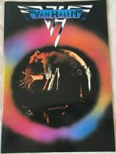 VAN HALEN 1978 Tour Program book