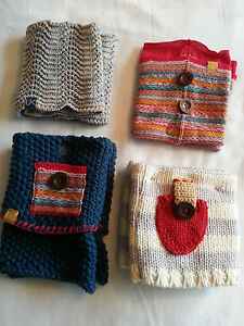 QUALITY LADIES GIRLS NOVELTY  KNITTED TOP BOOT CUFFS LEGWARMERS SOCKS