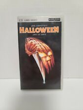 Halloween  UMD VIDEO PSP MICHAEL MYERS Playstation Portable