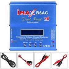 iMAX B6AC Digital LCD RC Lipo NiMh NiCD Battery Balance Charger w/ Power Adapter