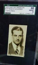1920s British American Tobacco B.A.T. RAMON NAVARRO SGC 8 Pop. 1 Highest Grade