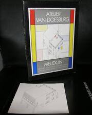 Theo van Doesburg # ATELIER MEUDON + book # kit, paper, 1985, nm++