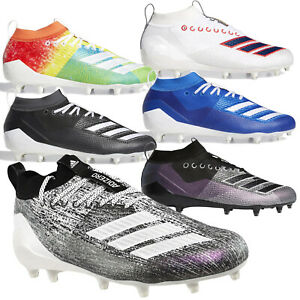 ADIDAS ADIZERO 8.0 Mens Low Cut Speed Football Cleats - PICK SIZE & COLOR