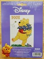 Cross Stitch Kit WINNIE THE POOH - Disney Janlynn - #1134‐45  NEW, Sealed!!