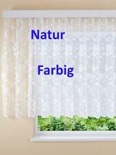 Fretiggardinen Stores Blumenfenster Langgardinen Cremefarbig H/145 x B/750 cm
