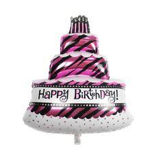 Torte Folienballon Luftballon Geburtstag Happy Birthday Party Deko