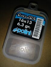 Polini Roller weights 6.3 grams 16x13 Honda elite sa50 dio se50 aero nb50 Ez fix