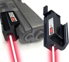 Mini Red Dot Laser Sight Daul 20mm rail for Pistol HandGun G17/19/22/31/35/37