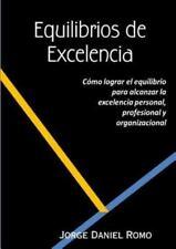Equilibrios de Excelencia (Paperback or Softback)