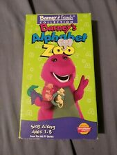 Barney - Barneys Alphabet Zoo (VHS, 1994)