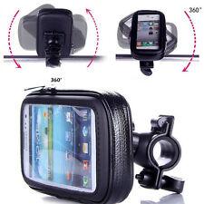 Sale Waterproof Bike Bicycle Motorcycle Phone Case Bag w/ Handlebar Mount Holder