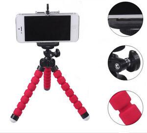 Portable Mini Flexible Tripod Mobile Phone Stand Holder Mold Iphone Camera Live