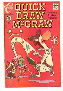 Quick Draw McGraw #2    Hanna Barbera    Charlton