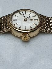 Omega Ladies 9ct Gold Watch Manual Wind c1969 Calibre 485