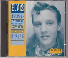 ELVIS PRESLEY CD - IMPORT FROM EUROPE - BY SPECIAL REQUEST - LIVE ARCHIVES