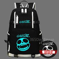 Gorillaz  Street Fighter Messenger Laptop Backpack Luminous Bag New/wtag