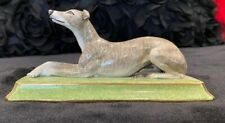 Halcyon Days Porcelain Greyhound from the Halcyon Days collection