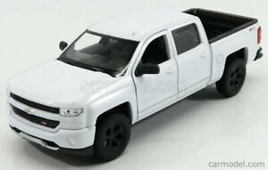 CHEVROLET SILVERADO DOUBLE CABINE PICK-UP 2017 SCALA 1/24 WELLY WE24083WH
