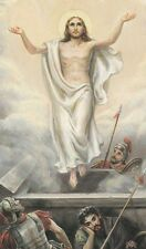 """*Holy Card-""""Jesus In The Clouds...w/Arms Held Up....""""  *Holy Card/Religious"""