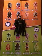 "JUSTICE LEAGUE MIGHTY MiNi's Series 1 BATMAN 2"" Action Figure DC Comics LOOSE BG"