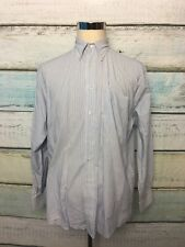Brooks Brothers Striped Relaxed Fit Cotton Button Down 15.5 -4