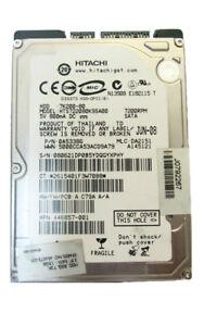 80GB Hitachi Travelstar HTS722080K9SA00 SATA Notebook HDD 8MB (157)