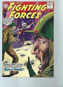 OUR FIGHTING FORCES 84 - F/VF 7.0 - GUNNER - SARGE APPEARANCES (1964)