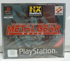 METAL GEAR SOLID VR SPECIAL MISSION - SONY PS1 - NUOVO PAL ITA - NEW SEALED PSX