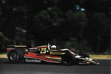 Riccardo Patrese SIGNED 12x8 , F1 Arrows-Cosworth A1  Argentine GP 1979