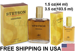 Stetson Cologne by Coty, Cologne Spray - Men's Chypre Fragrance 1.5 oz & 3.5 oz