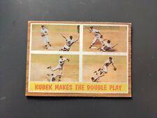 1962 Topps #311 Tony Kubek IA New York Yankees EX