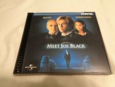 DIVX MEET JOE BLACK MOVIE 1999 BRAD PITT ANTHONY HOPKINS UNIVERSAL NOT DVD