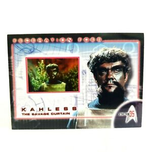 Star Trek Federation Foes FF4 TOS 35th Anniversary Rittenhouse Collector Cards