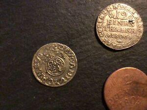 lot münzen altdeutschland bis 1871