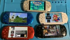 Sony Psp 3000 Psp 2000 System With Games 64Gb Memory Card