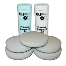 More details for jfj easy pro supply pack 2 - 2x polishing compound solution & 5 buffing pads