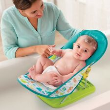 Summer Infant Deluxe Baby Bather - Folding Bath Sling Whalin' Around Pattern